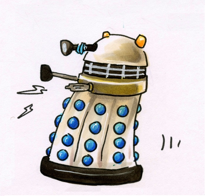 51 Days of Doctor Who: Dalek