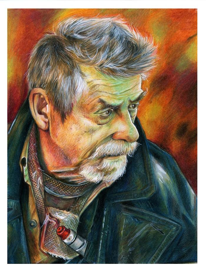 War Doctor Portrait